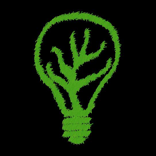 Grass Light Bulb
